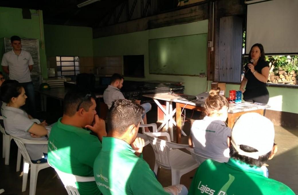 Atividade física e cremes de proteção, foram temas das palestras na Lajes Patagonia.