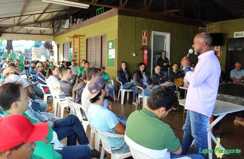 Encerrado evento SIPAT da Lajes Patagônia com palestra sobre o uso de drogas