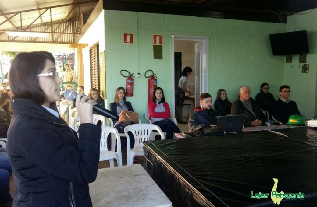 Ergonomia foi tema de palestra com colaboradores da Lajes Patagonia