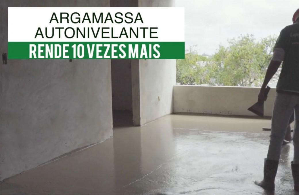 Lajes Patagonia oferece Argamassa Autonivelante. Produto vem para revolucionar e gerar agilidade