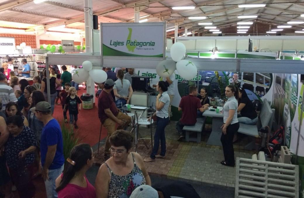 Lajes Patagonia participa de Expo Santa Helena e prevê bons negócios