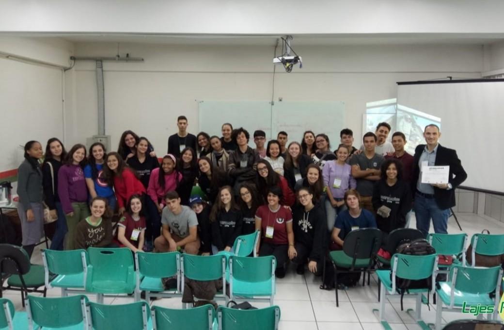 Lajes Patagonia realiza palestra em Semana Acadêmica do curso Técnico de Edificações do IFPR