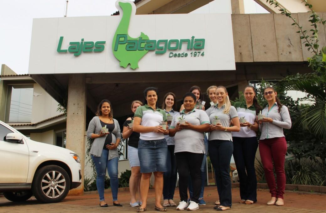 Mamães recebem homenagens da Lajes Patagonia