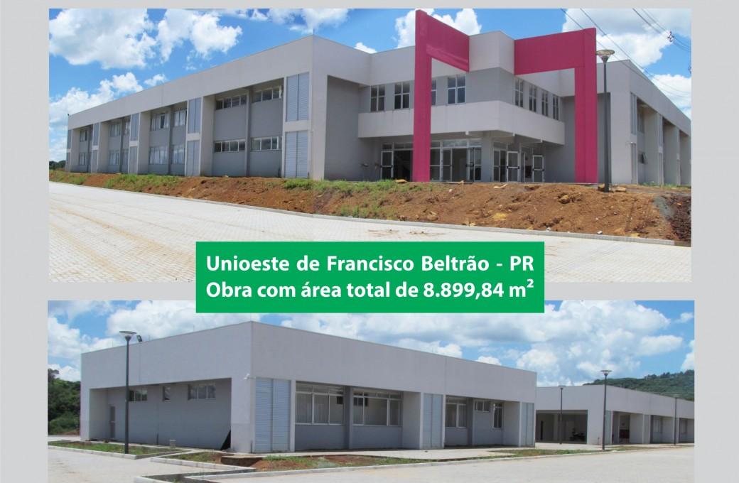 Obra com mais de 8 mil metros quadrados foi edificada em Francisco Beltrão