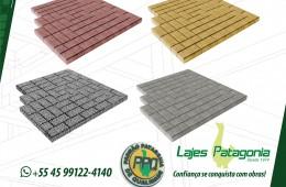 Lajes Patagonia disponibiliza variedade de pavers