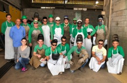 Lajes Patagonia realiza curso de aperfeiçoamento em Solda MIG/MAG